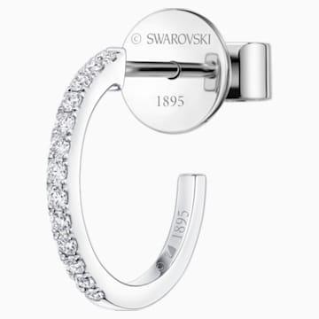 Just Myself Hoop Earring - Swarovski, 5436240