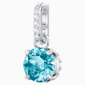 Swarovski Remix Collection Charm, 12월, 블루, 로듐 플래팅 - Swarovski, 5437316