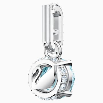 Swarovski Remix Collection Charm, 十二月, 藍色, 鍍白金色 - Swarovski, 5437316