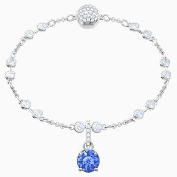 Swarovski Remix Collection Charm, 九月, 深蓝色, 镀铑 - Swarovski, 5437319