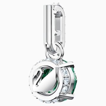 Swarovski Remix Collection Charm, 五月, 綠色, 鍍白金色 - Swarovski, 5437321