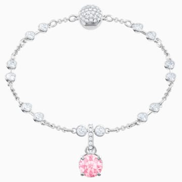 Swarovski Remix Collection Charm, Oktober, rosa, Rhodiniert - Swarovski, 5437322
