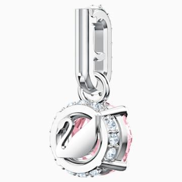 Swarovski Remix Collection Charm, 十月, 粉红色, 镀铑 - Swarovski, 5437322