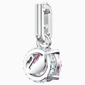 Swarovski Remix Collection Charm, 六月, 紫羅蘭, 鍍白金色 - Swarovski, 5437324