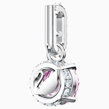 Swarovski Remix Collection Charm, junio, lila, Baño de Rodio - Swarovski, 5437324
