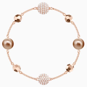 Swarovski Remix Collection Strand, Multi-colored, Rose-gold tone plated - Swarovski, 5437890