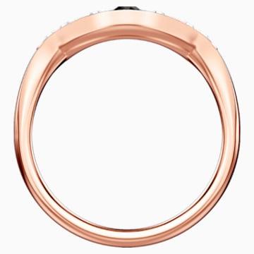 Swarovski Symbolic Evil Eye 戒指, 藍色, 鍍玫瑰金色調 - Swarovski, 5441193
