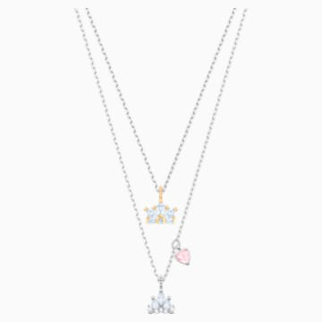 Out of this World Queen Necklace, White, Mixed metal finish - Swarovski, 5441393