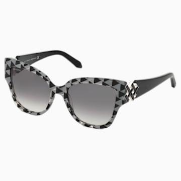 Gafas de sol Nile Square, SK161-P 01B, negro - Swarovski, 5443921