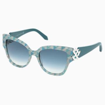 Gafas de sol Nile Square, SK161-P 87P, verde - Swarovski, 5443923