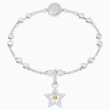 Swarovski Remix Collection Star Charm, blanc, Métal rhodié - Swarovski, 5443939