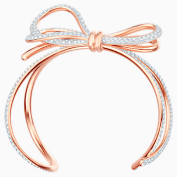 Lifelong Bow Armreif, weiss, Metallmix - Swarovski, 5447088