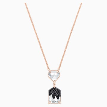 Make Necklace, Multi-colored, Rose-gold tone plated - Swarovski, 5447291