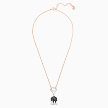 Make Necklace, Multi-coloured, Rose-gold tone plated - Swarovski, 5447291