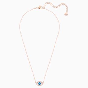 Collar Luckily, multicolor, Baño en tono Oro Rosa - Swarovski, 5448611
