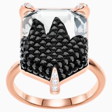 Make 鸡尾酒戒指, 彩色设计, 镀玫瑰金色调 - Swarovski, 5448895