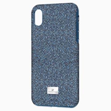 High Smartphone Schutzhülle mit Stoßschutz, iPhone® XS Max, blau - Swarovski, 5449136