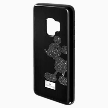 Mickey Body 智能手机防震保护套, Galaxy S®9, 黑色 - Swarovski, 5449138