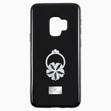 Mazy ring 智能手机防震保护套, Galaxy S®9, 黑色 - Swarovski, 5449145