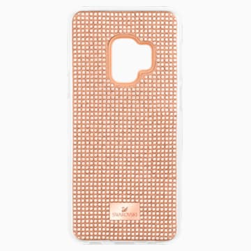 Hero 智能手机防震保护套, Galaxy S®9, 粉红色 - Swarovski, 5449153