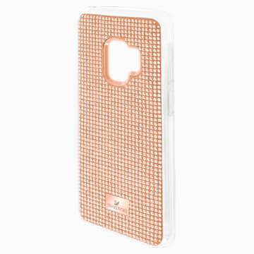 Hero Smartphone Case with Bumper, Galaxy S®9, Pink - Swarovski, 5449153