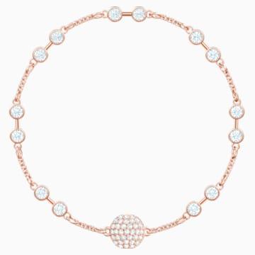 Swarovski Remix Collection Carrier, Белый Кристалл, Покрытие оттенка розового золота - Swarovski, 5451032