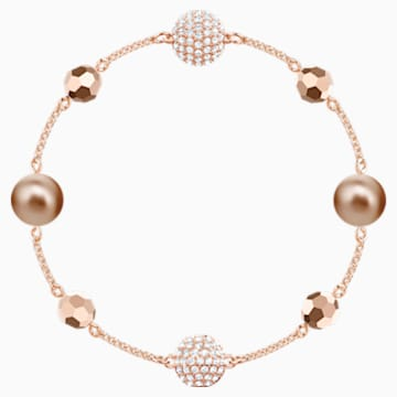 Swarovski Remix Collection Strand, Multi-coloured, Rose-gold tone plated - Swarovski, 5451034