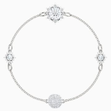 Swarovski Remix Collection Snowflake Strand, White, Rhodium plated - Swarovski, 5451035