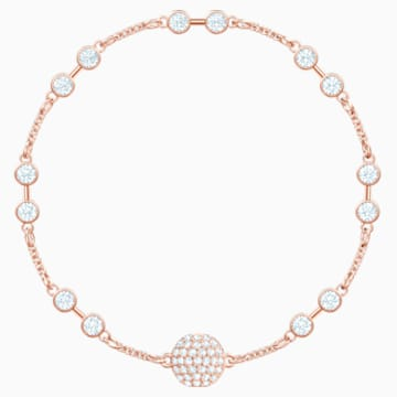 Swarovski Remix Collection Carrier, Белый Кристалл, Покрытие оттенка розового золота - Swarovski, 5451037