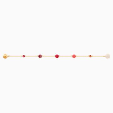Swarovski Remix Collection Pop Strand, Cok Renkli, Altın rengi kaplama - Swarovski, 5451315