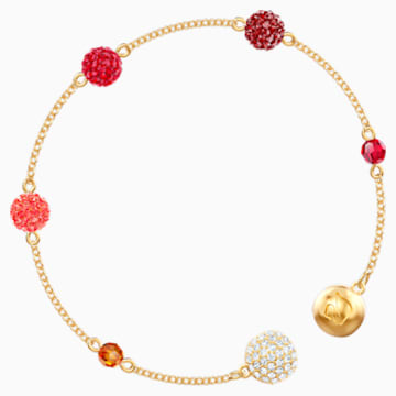 Swarovski Remix Collection Pop Strand, Multi-coloured, Gold-tone plated - Swarovski, 5451315