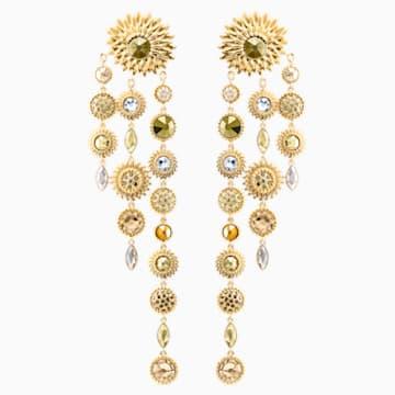 Orecchini Jackets Nemesia, multicolore, Placcato oro - Swarovski, 5451400