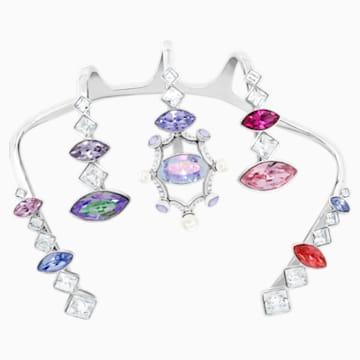 Neon 掌環, 多色設計, 鍍白金色 - Swarovski, 5451402