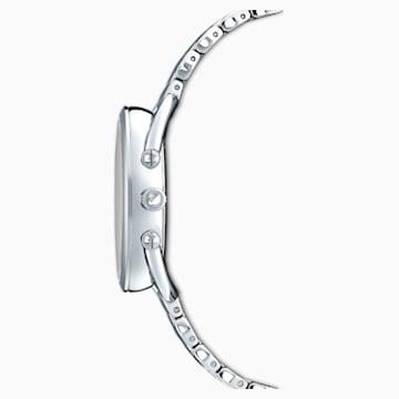 Crystalline Glam Часы, Металлический браслет, Серый Кристалл, Нержавеющая сталь - Swarovski, 5452468