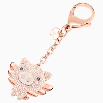 Little Pig Handtaschen-Charm, rosa, Metallmix - Swarovski, 5457471