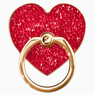 Glam Rock Ring Sticker, rot, Metallmix - Swarovski, 5457473