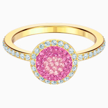 No Regrets Ring, Multi-coloured, Gold-tone plated - Swarovski, 5457494