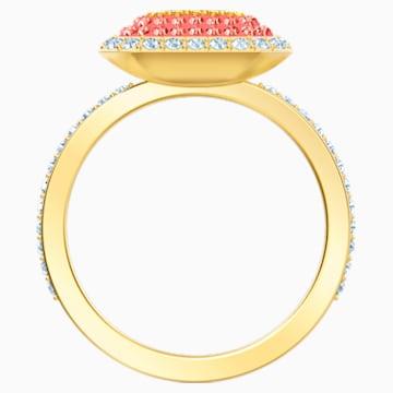 Bague No Regrets, multicolore, métal doré - Swarovski, 5457503