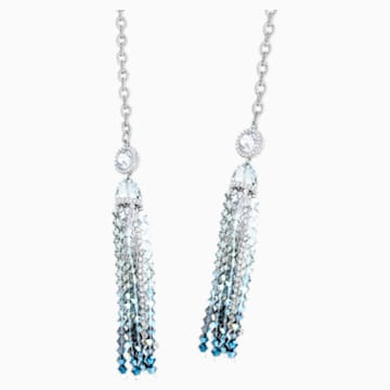 Ocean View Strandage, Multi-colored, Rhodium plated - Swarovski, 5457520