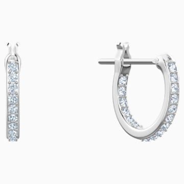 No Regrets Cocktail Pierced Earrings, Multi-colored, Rhodium plating - Swarovski, 5457661