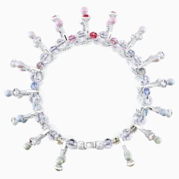 Neon Armband, mehrfarbig, Rhodiniert - Swarovski, 5458984