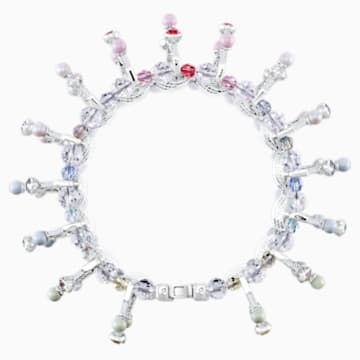 Neon Bracelet, Multi-colored, Rhodium plated - Swarovski, 5458984