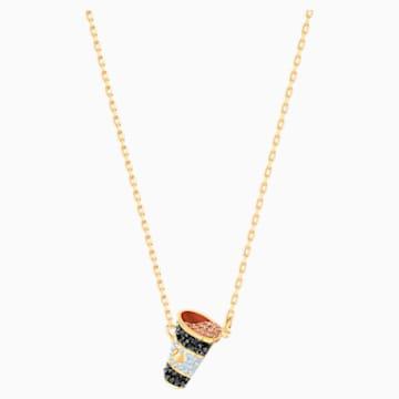 Nicest 套裝, 多色設計, 鍍金色色調 - Swarovski, 5459142