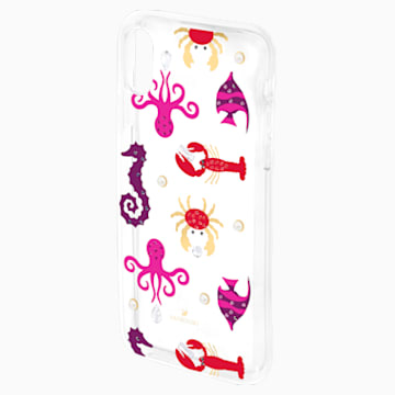 Sea Life Smartphone case with integrated Bumper, iPhone® X/XS, Transparent - Swarovski, 5459361