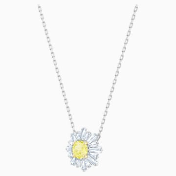 Pendente Sunshine, giallo, Placcatura rodio - Swarovski, 5459588