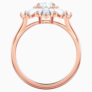 Sunshine Ring, weiss, Rosé vergoldet - Swarovski, 5459599