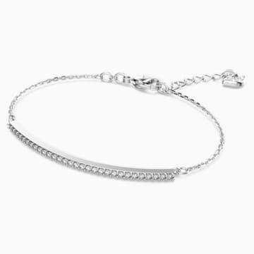 Only Armband, weiss, Rhodiniert - Swarovski, 5460440