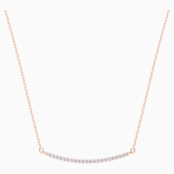Collana Only, bianco, Placcato oro rosa - Swarovski, 5464129
