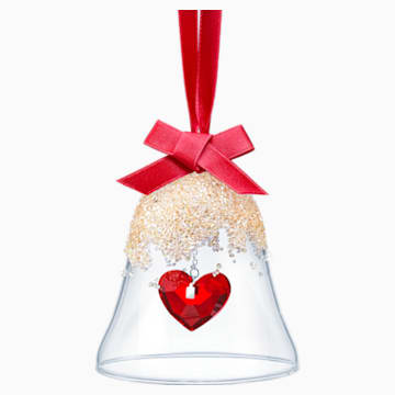 Karácsonyi harangdísz, szív - Swarovski, 5464881