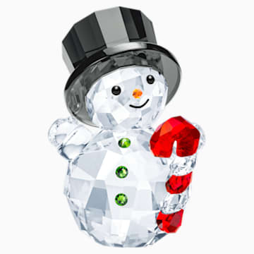 Snowman with Candy Cane - Swarovski, 5464886
